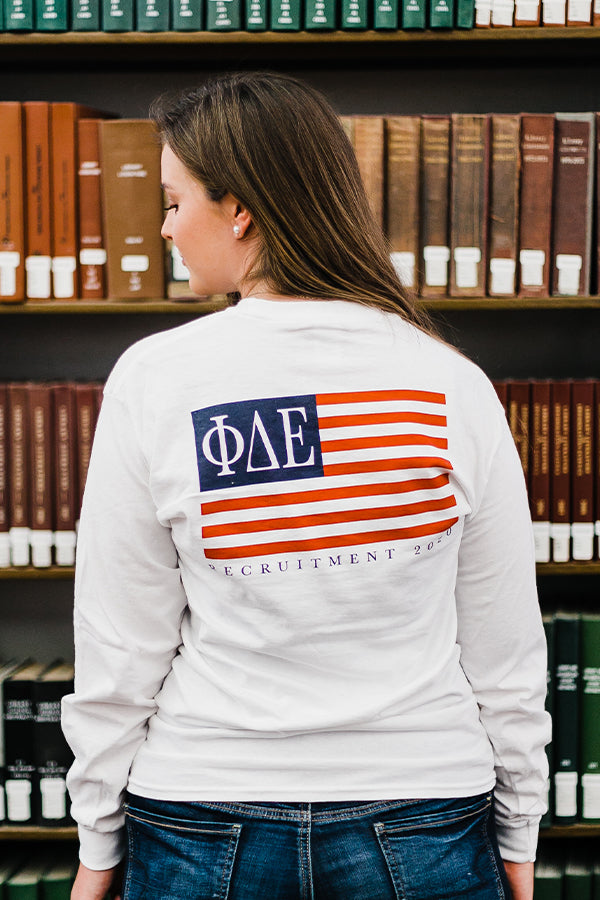 Flag Recruitment Longsleeve