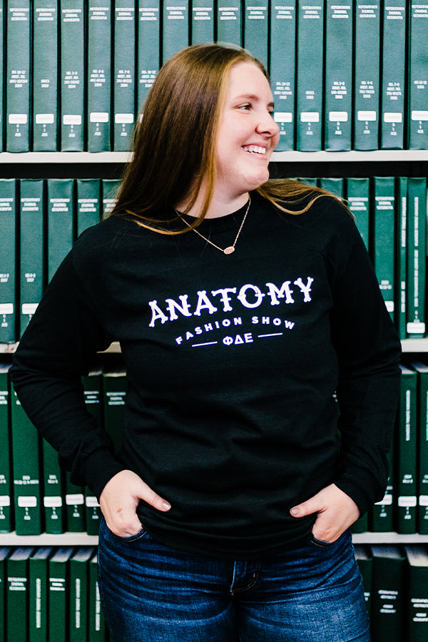 Anatomy Sign Longsleeve