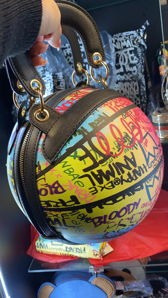 Graffiti Basketball Crossbody