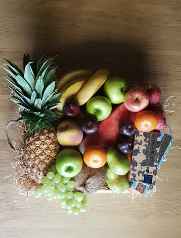 Deluxe Fruit and Chocolate Hamper