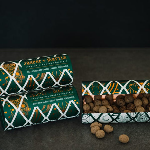 Jasper & Myrtle Chocolate Coated Macadamias