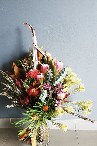 Native flower delivery, wildflowers, canberra flower delivery, Poetry in Flowers, Gungahlin Florist