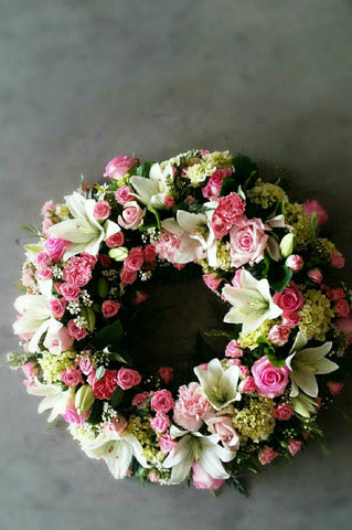 Seasonal Pastel wreath