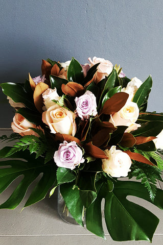 Sweet Roses - Mixed Colour Rose Bunch