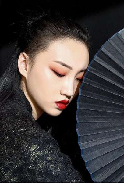 traditional chinese element design fashion modern art make up amazing (9)