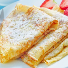 crepe recipe pancake strawberry breakfast desert  baking cooking kitchen food (16)