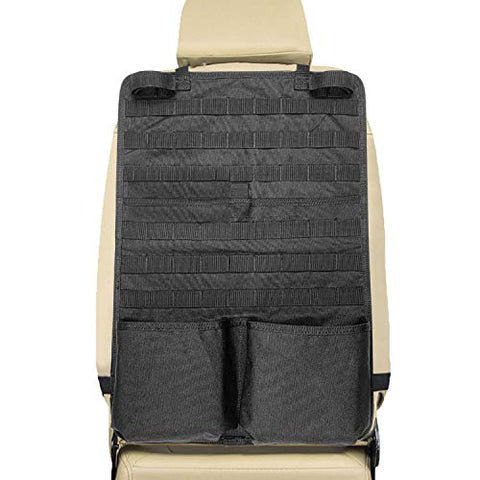 tacticle seat back organizer