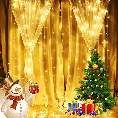 Christmas Decoration Curtain Lights