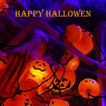 Halloween String Lights Pumpkin Novtech