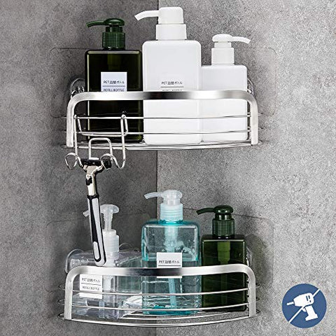 2 Pack corner shower caddy