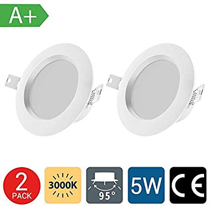 led recessed ceiling light 5 pack