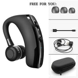 Handsfree Business With Mic Voice Control Wireless Bluetooth Headset