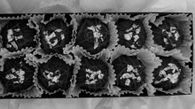 Load image into Gallery viewer, Trophy Truffles - Dark Mint Truffle with Edible Silver Leaf
