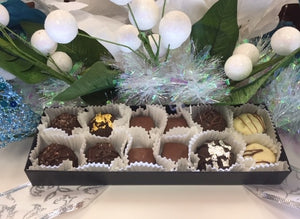Trophy Truffle 12 pack with assorted Truffle flavours- Made with Liquor