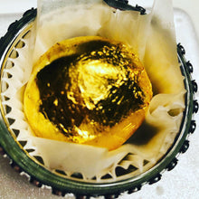 Load image into Gallery viewer, Vegan Truffles wrapped in 24K edible Gold Leaf