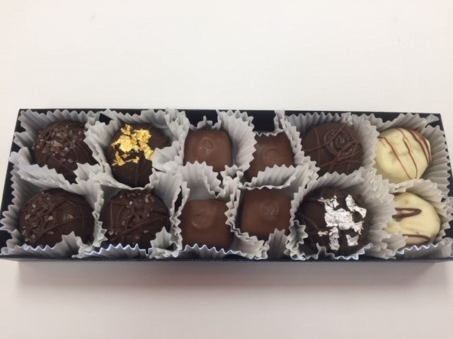 Trophy Truffle 12 pack with assorted Truffle flavours- Non-Alcohol Truffles