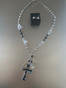 CROSS NECKLACE SET