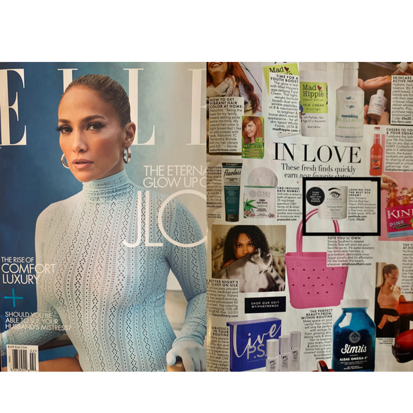 Elle Magazine mentions NoCrowZ Retinol voted best Eye Cream 2020!