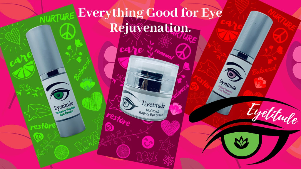 Here comes Eyetitude with the latest in eye area skin care...