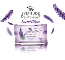 Load image into Gallery viewer, RevitaleyeZ 4in1 Facial Wipes 30 Count