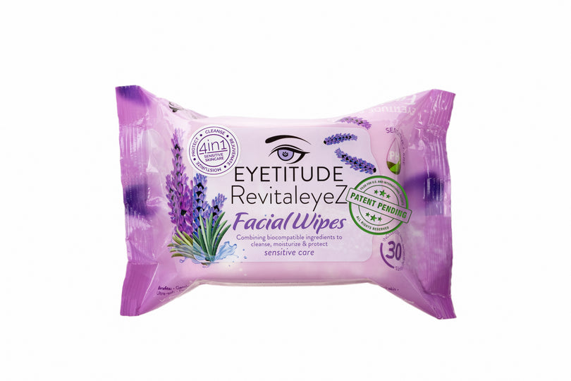 RevitaleyeZ 4in1 Facial Wipes 30 Count