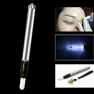 1pcs Microblading & Microshading Manual Tool with LED light -  Includes rechargeable Unit