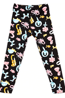 Buttery Soft Animal Balloon Kids Leggings