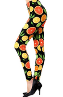Buttery Soft Citrus Fruit Leggings