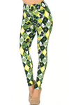 Buttery Soft Luck of the Irish Line Leggings