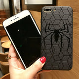 Marvel Avengers Captain America Shield Superhero Case for iPhone 6s 7 8 Plus X 10 Silicone Rubber Cover Ironman coque - Itstechy.com