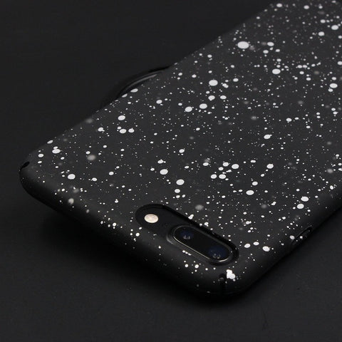 Silver Starry Night iPhone Cases - Itstechy.com