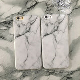 Marble Soft TPU iPhone Case - Itstechy.com