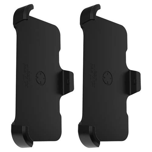 OtterBox Defender Series Holster/Belt Clip for OtterBox Defender Series Case - Apple iPhone Xs and iPhone X - Non-Retail Packaging - Black (2 Pack): Gateway - Itstechy.com