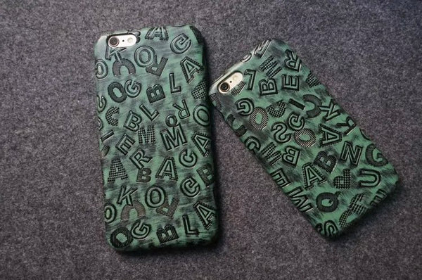 Vintage Alphabet iPhone Case - Itstechy.com