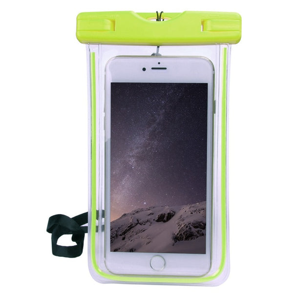 Waterproof Phone Case For iPhone 7 6S Coque Pouch Waterproof Bag Case For Samsung Galaxy S8 Swim Waterproof Case - Itstechy.com
