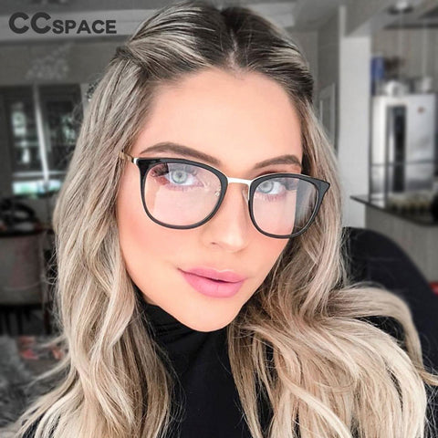 Anti-blue Light Round Glasses Frames Men Women Optical Fashion Computer Glasses