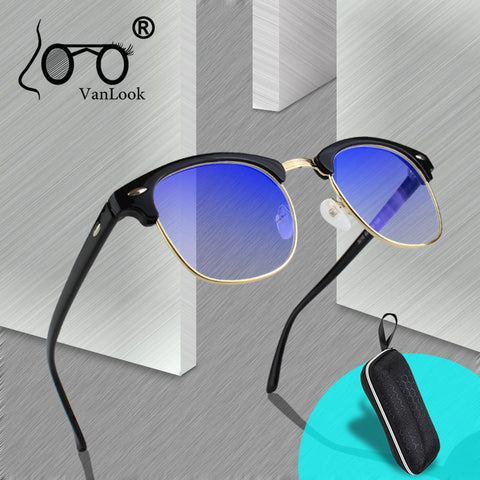 Blue Light Blocking Women Men Spectacle Frame Anti Blue Ray Anti Radiation Clear Fashion Eyeglasses