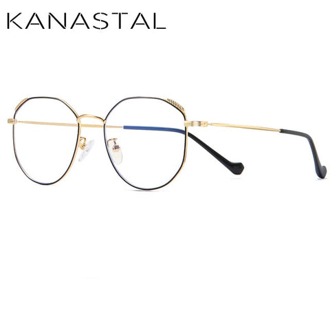 KANASTAL Computer Anti Blue Ray Glasses Anti Blue Light Eyeglasses Optical Eye Spectacle Gaming Eyewear Anti Fatigue 1906