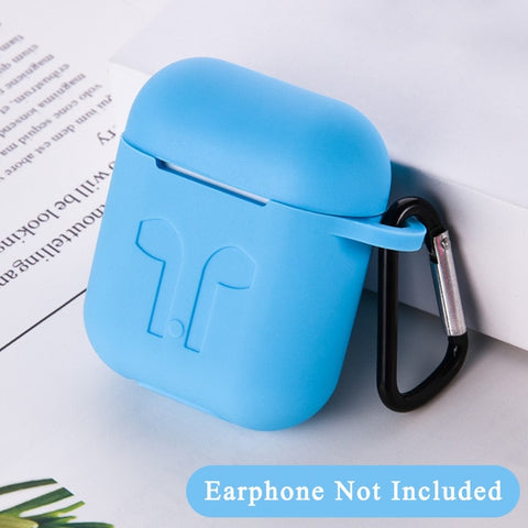 TPU Soft Silicone Colorful Case For Apple AirPods 2 Earphones Shockproof Case For Apple Air Pods 1 Charging Box