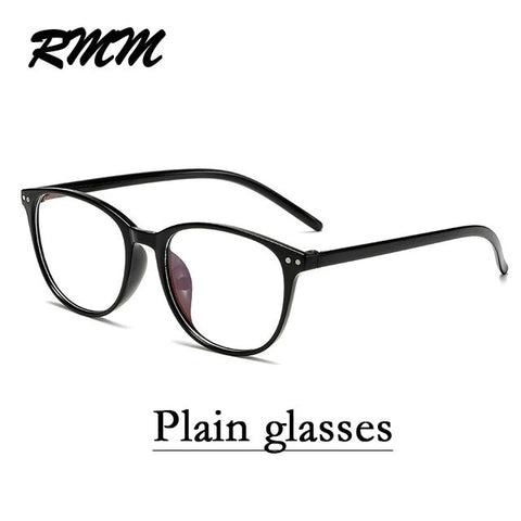 RMM Retro Square round Frame Plain Glasses Anti blue light glasses Women&Men Optical Spectacle Glasses Myopia Eyeglasses Frames