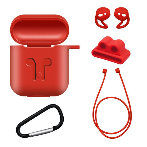 Soft Silicone Case For Airpods For Air Pods Shockproof Earphone Protect Cover Waterproof for iphone 11 Headset Accessories - Itstechy.com