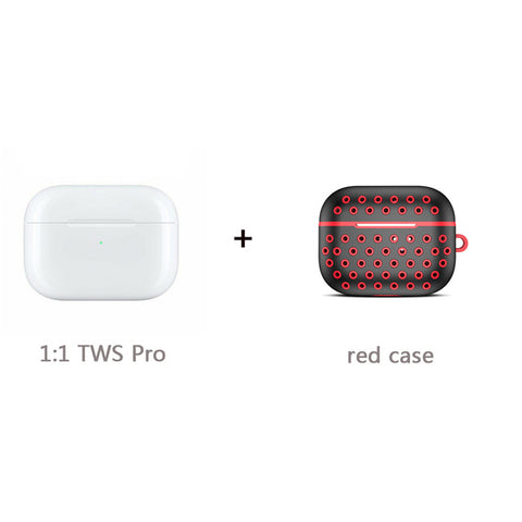 TWS Air Pro 1:1 Bluetooth Earphone 8D Hifi Stereo Wireless Headphone Airpodering Noise Cancelling Earbuds Touch Control Headsets