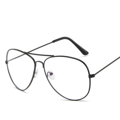Polygon Metal Anti Blue Light Blocking Glasses Frame Men&Women Computer Games Goggles Eyeglasses Optical Spectacle Frame