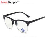 Round Blue Light Kids Glasses Optical Frame 2020 Children Boy Girls Computer Transparent Blocking Anti Reflective Eyeglasses UV
