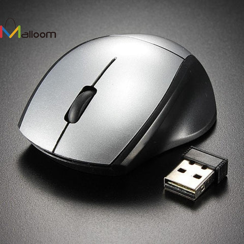 Malloom 2017 Mini 2.4GHz Gaming Mouse 2000 DPI Mice Optical Wireless Mouse Mice Cordless USB Receiver PC Computer for Laptop - Itstechy.com