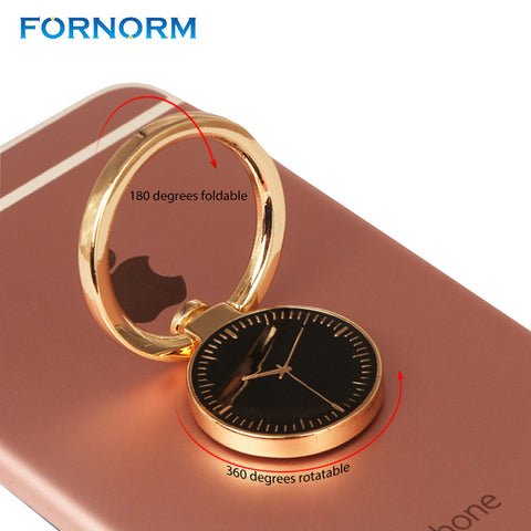 Powstro Watches 360 Degrees Rotation Finger Ring Holder Universal Mobile Phone Metal Finger Grip Bracket Stand for iPhone 7/6s - Itstechy.com