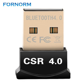 FORNORM Wireless Mini USB Bluetooth Transmitter Dual Mode Portable Bluetooth 3.0 Adapter Music Sound Receiver For Win 10/7/8 - Itstechy.com