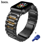 HOCO Fashion Stainless Steel Watch band Strap for apple watch 42 mm link bracelet Replacement Watchband for iwatch serise 1 2 3 - Itstechy.com