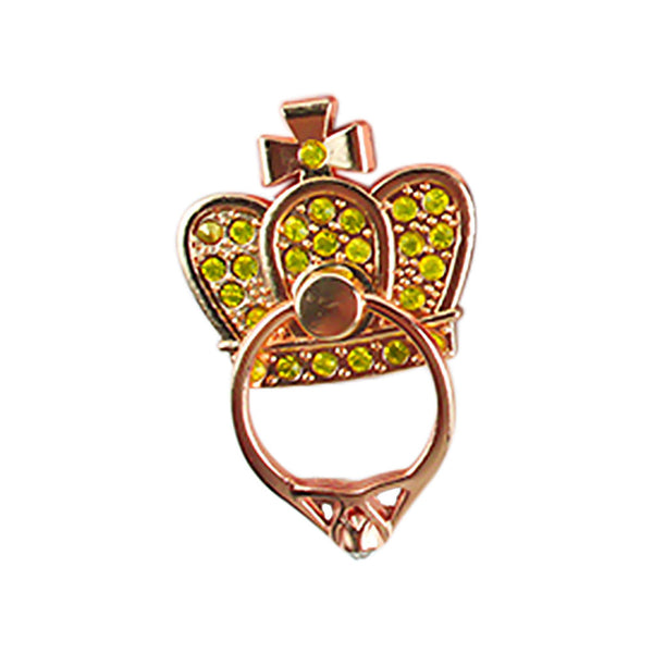 Portable Supplies Smartphone Mobile Phone Holder Cell Phone Stand Rhinestone Crown Accessories Finger Ring - Itstechy.com