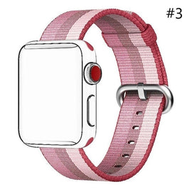 Woven Nylon Apple Watch Band, Classic Replacement Wrist Strap for Apple IWatch / New Apple IWatch Series 2 / Apple Watch - Itstechy.com